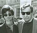 Charlie Matthau and Walter Matthau at the CFC BBQ (48198888076).jpg