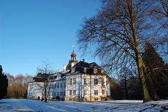 Charlottenlund - Charlottenlund Palace in the winter time