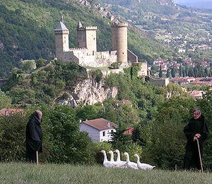 Joan of Artois, Countess of Foix - The Château de Foix where Jeanne of Artois was imprisoned in 1331