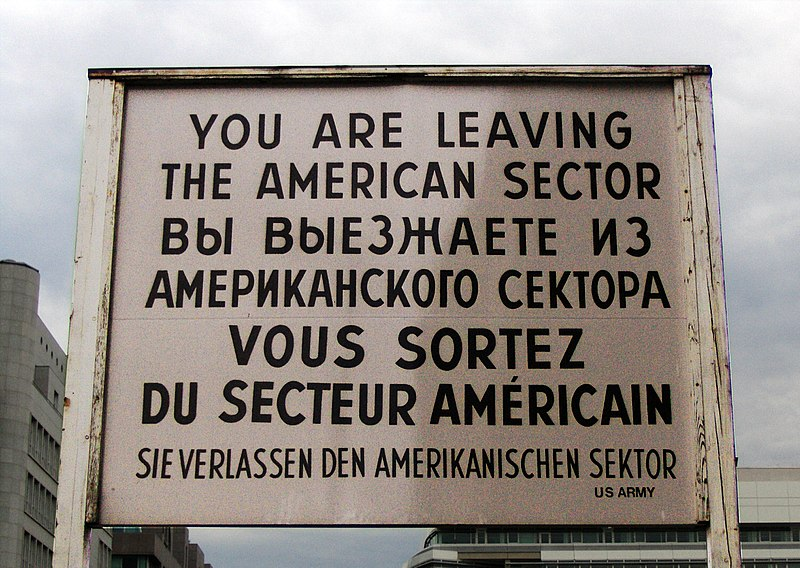 File:Checkpoint Charlie sign.JPG