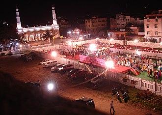 Triplicane Big Mosque - Image of the mosque during a wedding ceremony