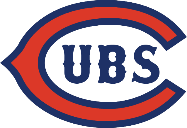 Chicago Cubs logo 1919 to 1926