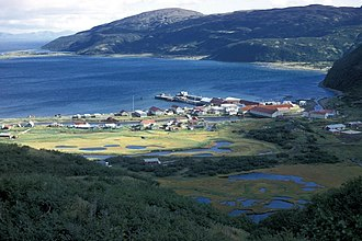 Chignik, Alaska - Chignik from above