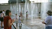 Kinder beim Spielen in Oklahoma City