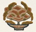 China, 14th century - Fragment of Lotus Flower surrounded by Leaves - 1992.93 - Cleveland Museum of Art.tif