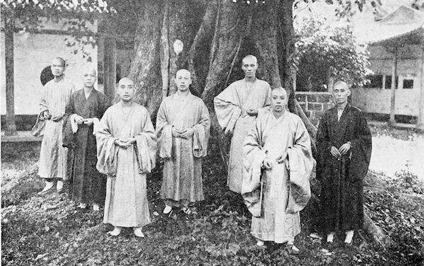 Chinese buddhist priests