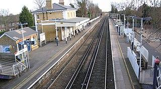 Chiswick railway station British railway station
