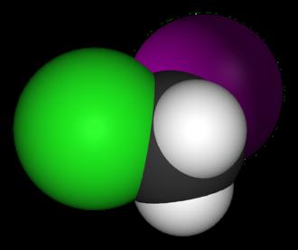 Molecular symmetry - Image: Chloroiodomethane 3D vd W