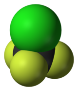 Image illustrative de l'article Chlorotrifluorométhane