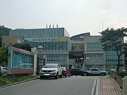 Chowol-eup office.JPG