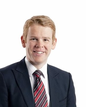Minister of Education (New Zealand) - Image: Chris Hipkins 2