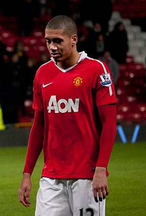 Chris Smalling - Smalling playing for Manchester United in 2011