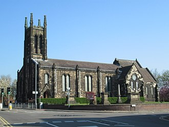 Tunstall, Staffordshire - Christ Church, Tunstall