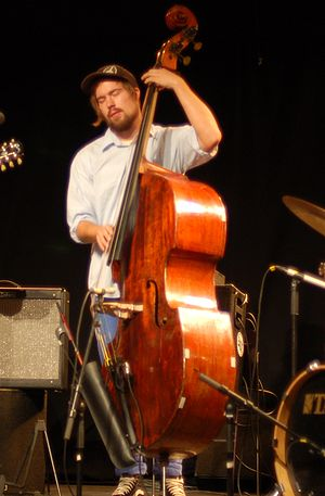 2010 in jazz - Christian Meaas Svendsen, with Mopti at EnergiMølla, Kongsberg, 2010.