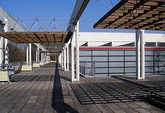 Gymnasium Christianeum - Christianeum, Hamburg, designed by Arne Jacobsen