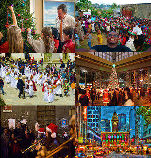 Observance of Christmas by country traditions of celebrating Christmas around the world