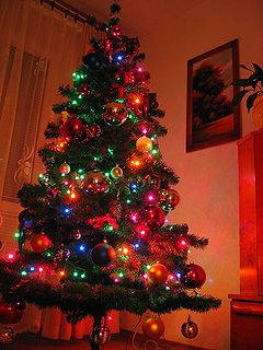 Christmas tree-choinka