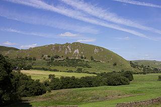 Chrome Hill mountain in United Kingdom