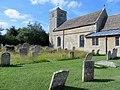Church and graveyard at Yarwell - August 2013 - panoramio.jpg