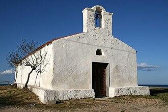San Giovanni di Posada - The small Church dedicated to Saint John (San Giovanni), right on the beach