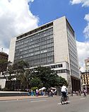 Headquarters of the Banco de la República, in Bogotá, Colombia