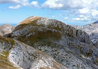 Cima delle Saline Mountain in Italy