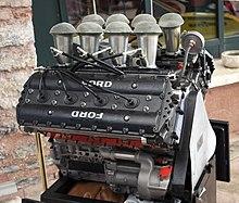 A Cosworth Dfv 3 Litre V8 Formula One Engine