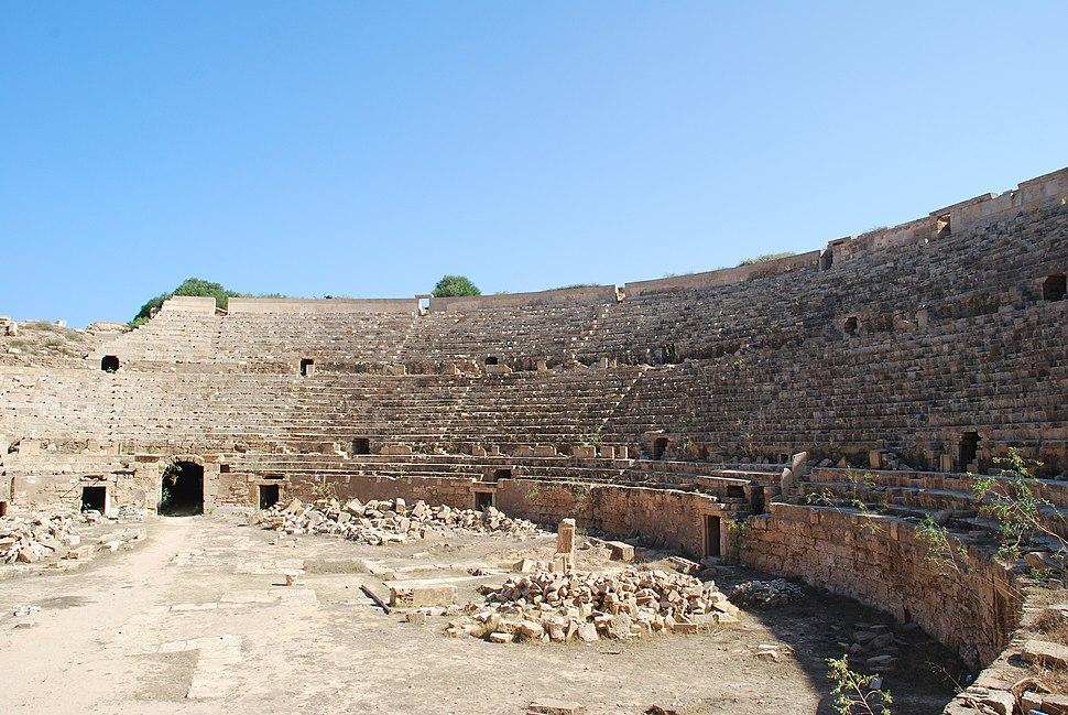 Circus Leptis Magna Libya