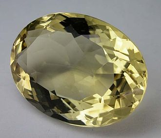 Citrine (colour) - Citrine, a deep golden yellowish variety of quartz