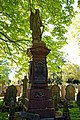 City of London Cemetery John Denman 1905 Sarah Nenman 1908 monument 1.jpg