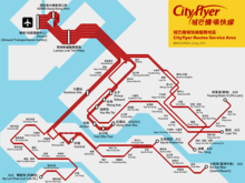 Route Map Of Cityflyer Airport Services