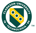 Clarkson University Shield green and gold.png