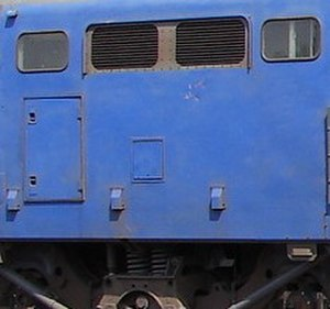 South African Class 6E1, Series 9 - Drainage holes on Series 9 to 11