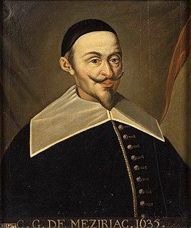 Claude Gaspar Bachet de Méziriac French mathematician