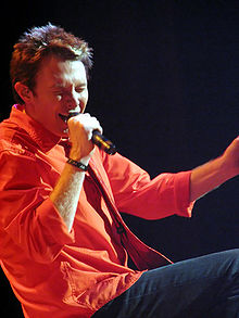 Clay Aiken during the Jukebox Tour in Merrillville, IN, August 23, 2005