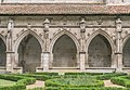 Cloister of the Saint Stephen cathedral of Cahors 20.jpg