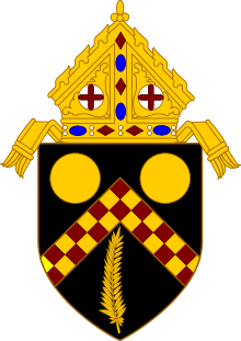Coat of Arms of the Roman Catholic Archdiocese of Brisbane.svg