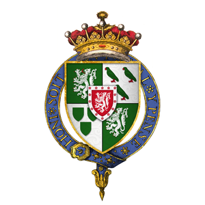George Home, 1st Earl of Dunbar - Arms Sir George Home, 1st Earl of Dunbar, KG