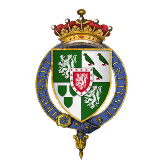 George Home, 1st Earl of Dunbar - Arms Sir George Home, 1st Earl of Dunbar, KG