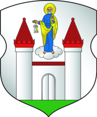 Coat of arms of Barysaŭ.png