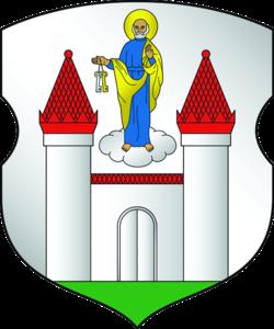 Coat of arms of Barysaŭ.png