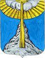 Coat of arms of the Rojdestvenskoye rural settlement, Gatchina District, Leningrad Oblast, Russia.jpg