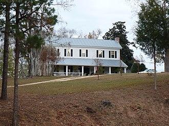 Cobb House (Grove Hill, Alabama) - The Cobb House in 2008