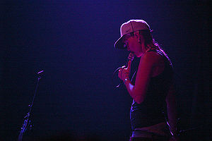 CocoRosie - Bianca performing live in 2007.