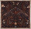 Collectie NMvWereldculturen, RV-847-94, Batikpatroon, 'Semen candra', voor 1891.jpg
