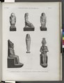Collection d'antiques. 1-3. Figures en bronze; 4.5. Figure en basalte; 6. Figure en terre cuite émaillée (NYPL b14212718-1268233).tiff