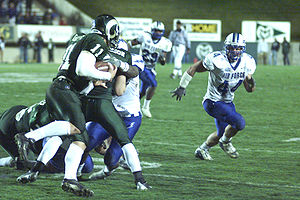 Modern history of American football - A college football game between Colorado State University and the Air Force Academy