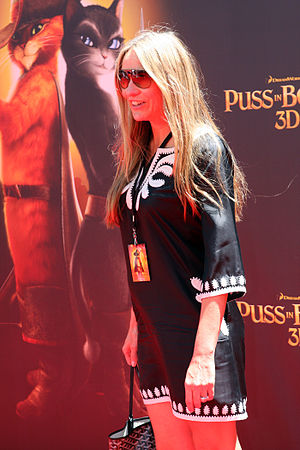 Collette Dinnigan - Collette Dinnigan at the Puss In Boots Australian premiere, in November 2011