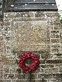 Coln St Aldwyns. War Memorial, Glos.jpg
