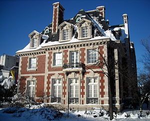 Thomas T. Gaff House - Image: Colombian ambassador's residence Blizzard of 2010